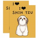 Placa Love Shih tzu
